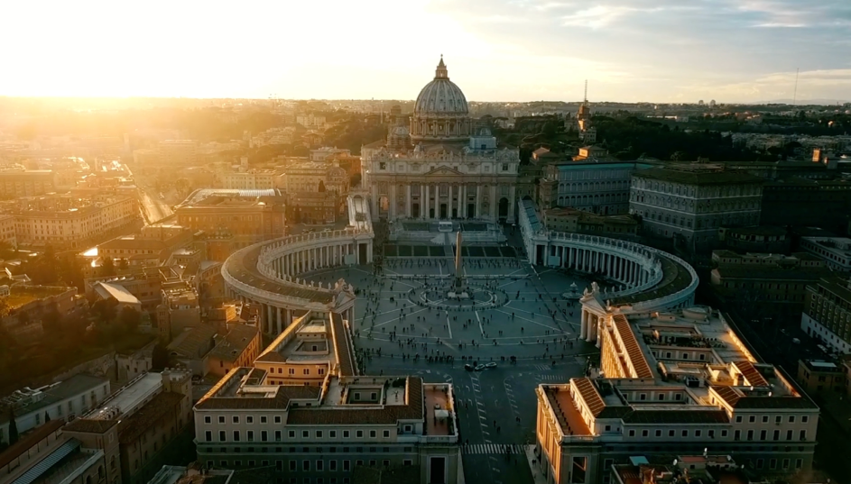 The Vatican at daybreak