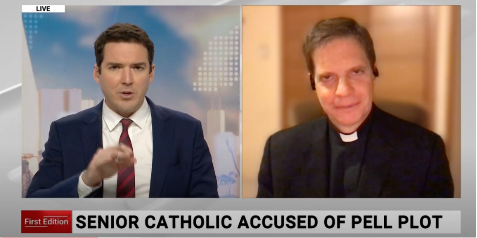 Fr. Gahl speaks to SkyNews Australia
